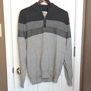 NWOT LARGE URBAN PIPLINE MENS Sweater 1/4 Zip
